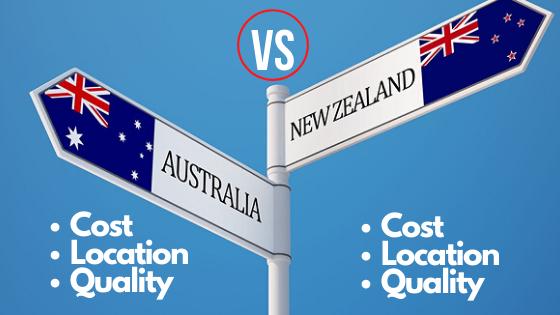 Study Abroad Australia, Study Abroad New Zealand