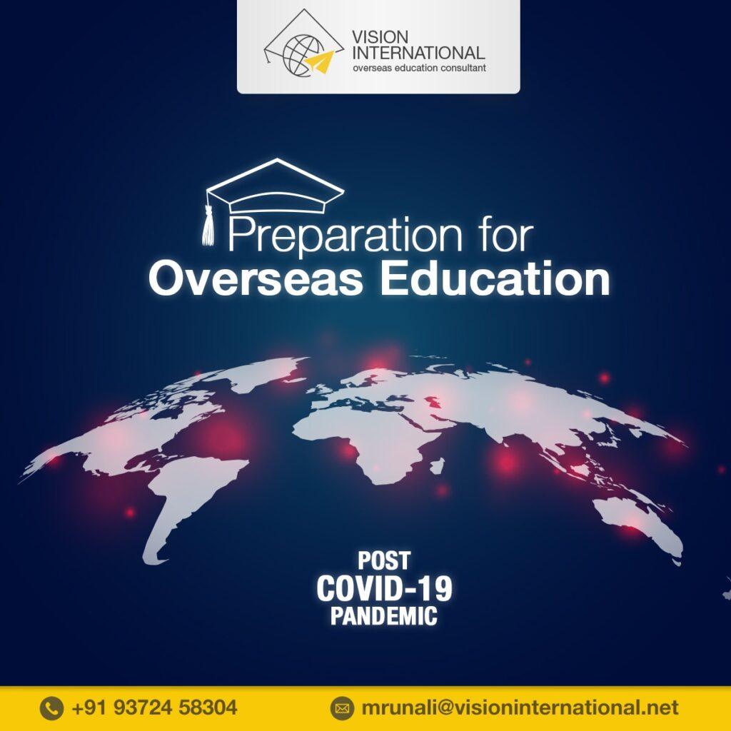 Prepare for overseas education.